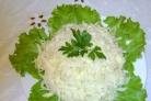 Свежий салат из капусты