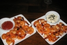Креветки с соусом