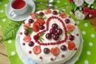 Торт со сметанным кремом