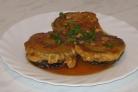 Баклажаны с мясом в кляре