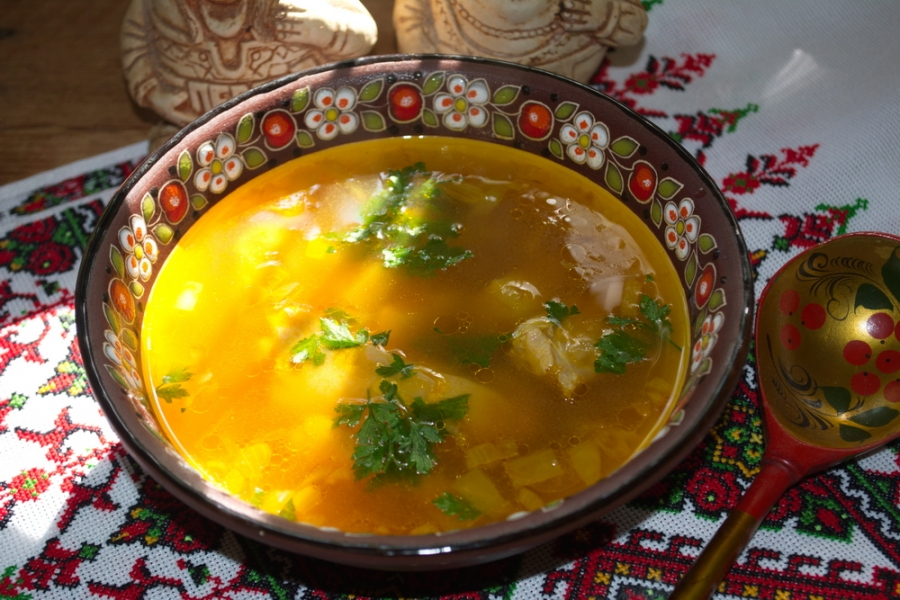 Суп с паприкой - фото шаг 5
