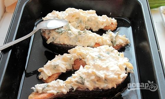 Стейки из семги в духовке - фото шаг 4