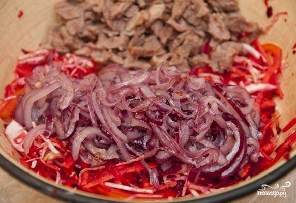 Салат по-китайски - фото шаг 10