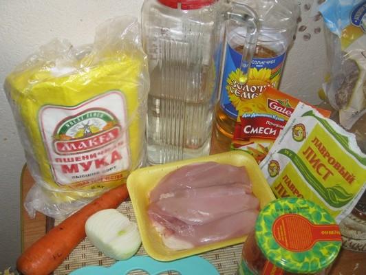 Рецепт Гуляш из курицы в мультиварке