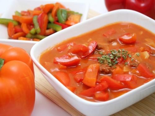 Лечо с морковкой и луком - фото шаг 4