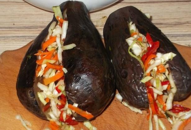 Баклажаны, фаршированные мясом - Рецепт с фото на Готовим дома