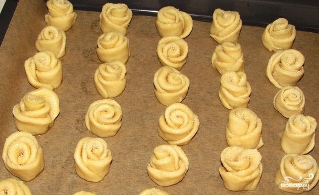 Творожное печенье с сахаром - фото шаг 5