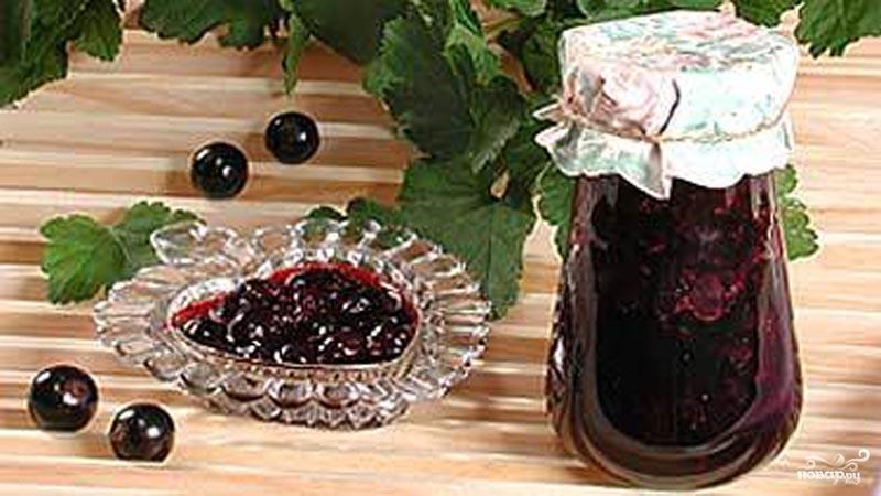 Рецепт Смородина с сахаром на зиму