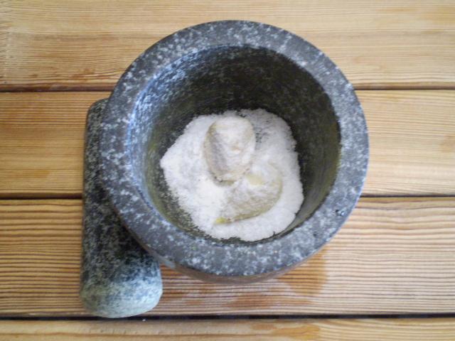Адыгейская чесночная соль - фото шаг 4