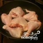 Курица с горохом - фото шаг 3