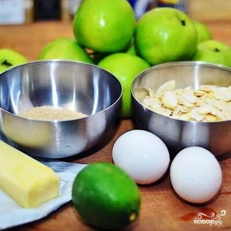 Рецепт Шведский яблочный пирог