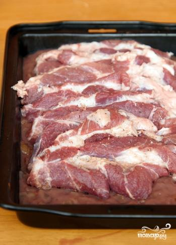 Мясо в винном соусе - фото шаг 6