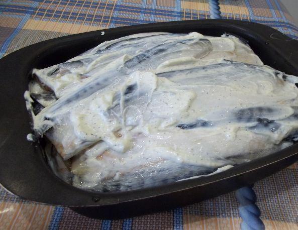Рыба, запеченная на костре - фото шаг 4