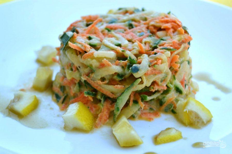Салат из печени трески с огурцом пошаговый рецепт быстро и просто от 8