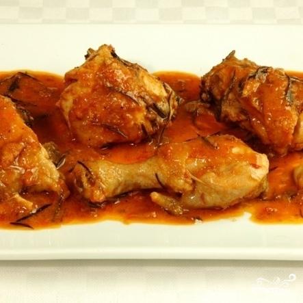 Курица в томатной пасте - фото шаг 4