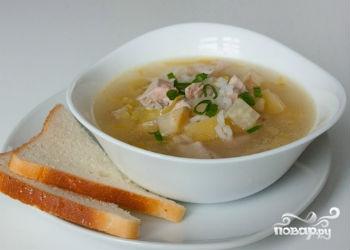 Рецепт Суп рисовый в мультиварке