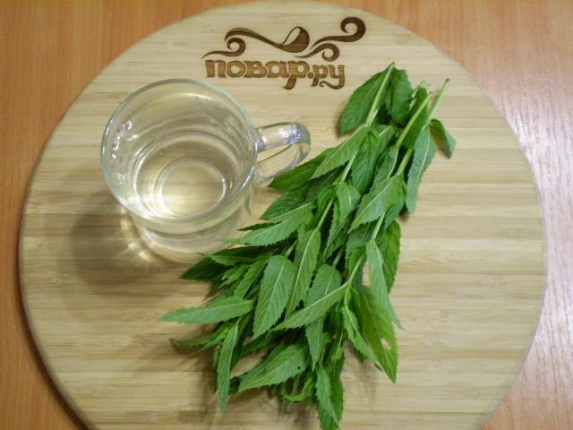 Рецепт Чай с мятой для похудения
