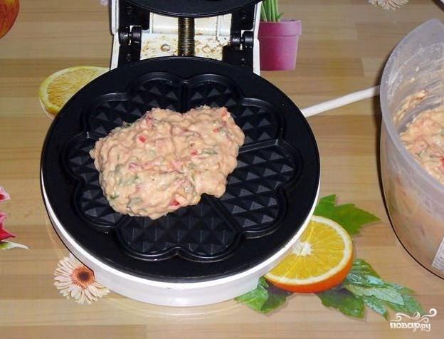 Сырные вафли - фото шаг 4