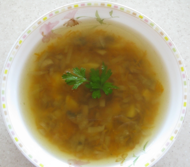 Суп с грибами - фото шаг 5