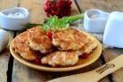 Рубленые шницели из курицы с сыром