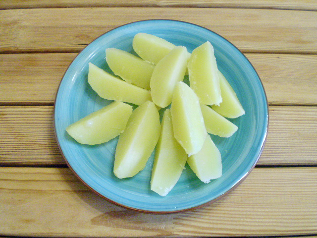 Картошка с зеленью - фото шаг 5