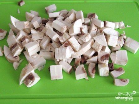 Картофельная запеканка с шампиньонами - фото шаг 3