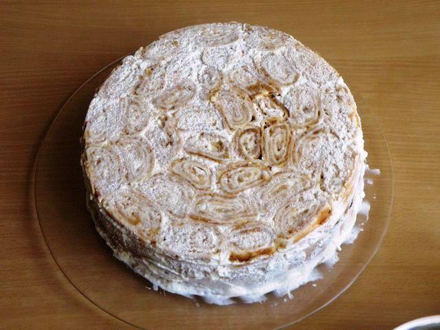 """Торт """"Трухлявый пень"""" (классический рецепт) - фото шаг 8"""