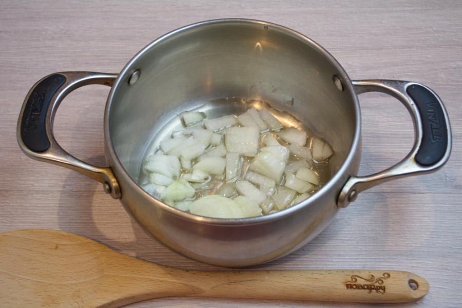 Суп на грибном бульоне - фото шаг 1