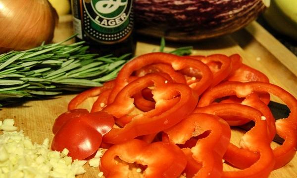 Лазанья с баклажанами и грибами - фото шаг 4