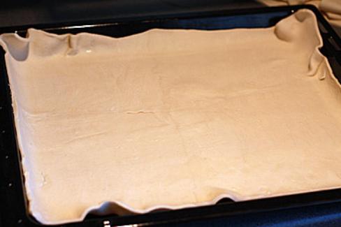 Черничный пирог на слоеном тесте - фото шаг 1