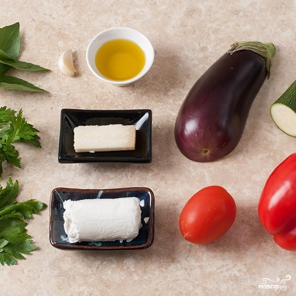 Рецепт Овощной мильфей
