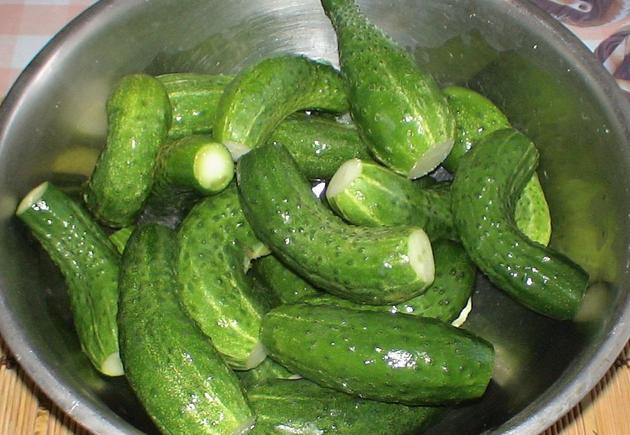 Рецепт Закатка огурцов с лимонной кислотой
