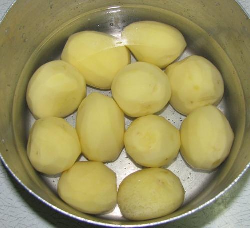 Рецепт Картофельное пюре для грудничка