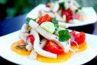 Салат кальмаровый