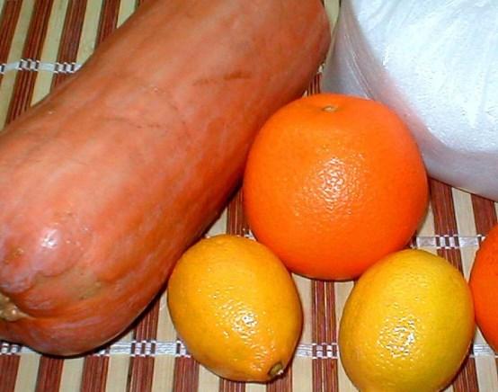 Рецепт Джем из тыквы с апельсином
