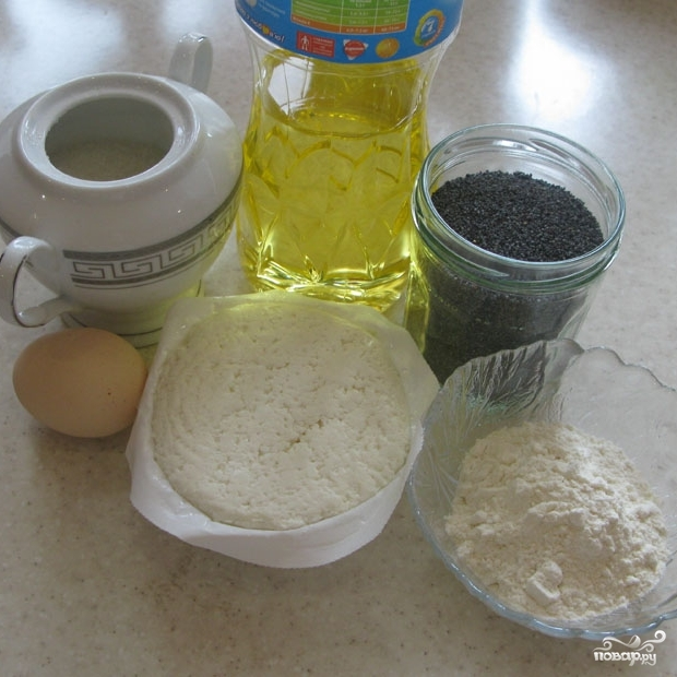 Рецепт Cырники с маком