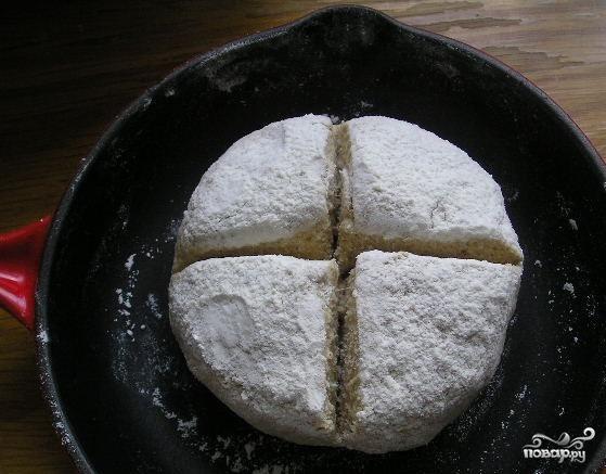 Ирландский хлеб из овсянки - фото шаг 4