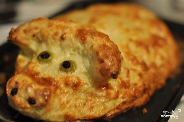Пирог с капустой и картошкой