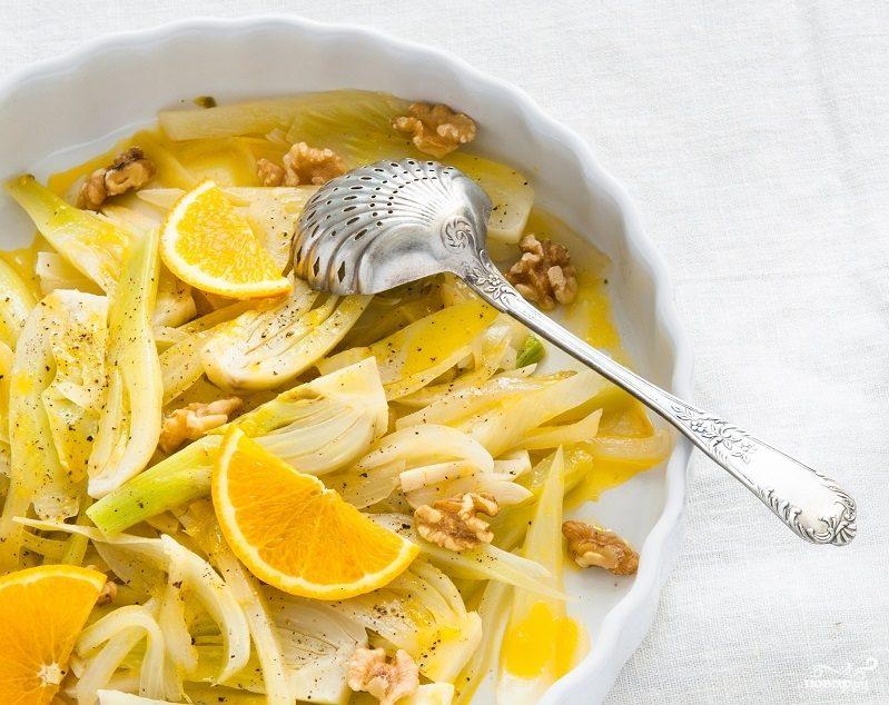 Салат с фенхелем и апельсином
