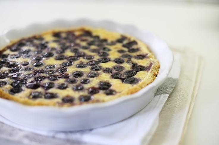 Финский черничный пирог - фото шаг 8