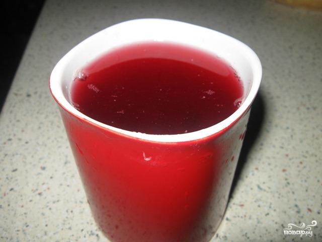 Рецепт Компот из красной смородины на зиму