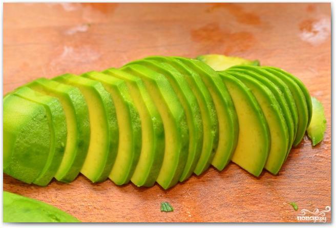 Салат из дыни и авокадо - фото шаг 5