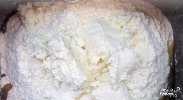 Творожное тесто в хлебопечке - фото шаг 5