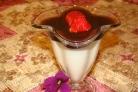 Птичье молоко под вишневым желе