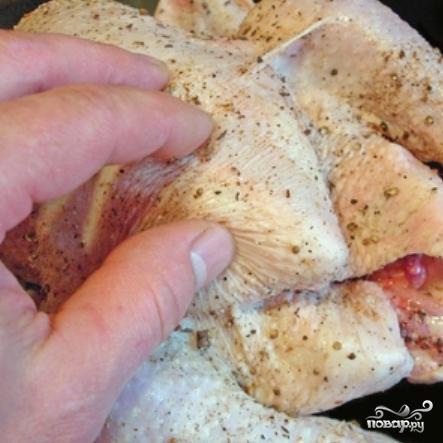 Ароматный цыпленок - фото шаг 4