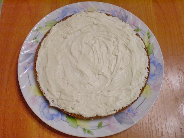 Торт на день рождения мамы - фото шаг 11