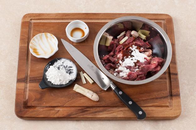 Рецепт Говядина с базиликом