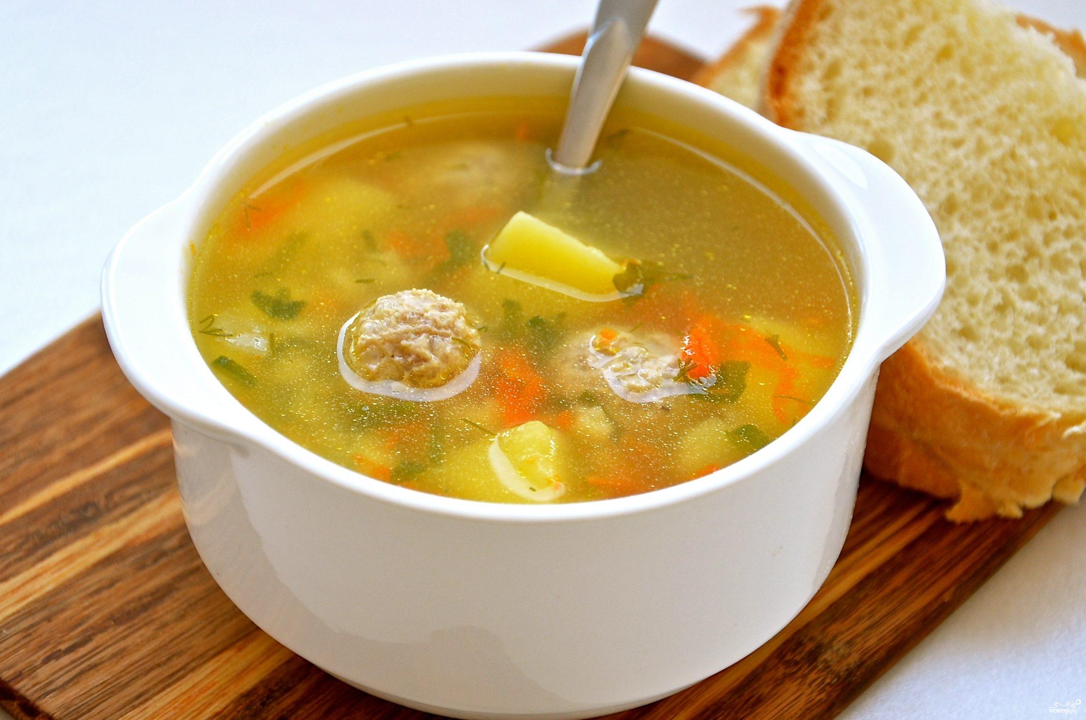 Фрикадельковый суп