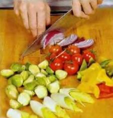Салат из запечённых овощей - фото шаг 1