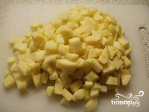 тушение картошки с мясом в мультиварке рецепт с фото